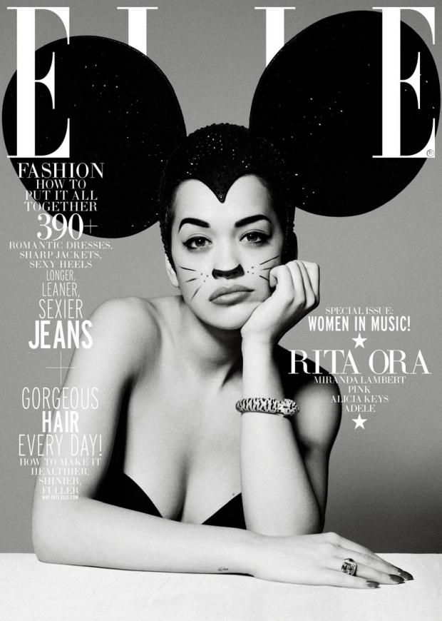 Elle: Rita Ora