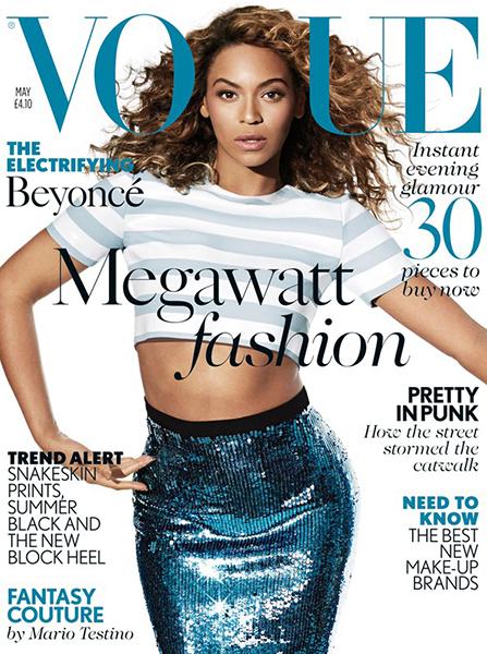 Vogue UK: Beyonce