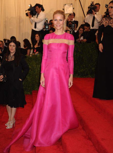 Gwyneth Paltrow did not enjoy the Met Ball