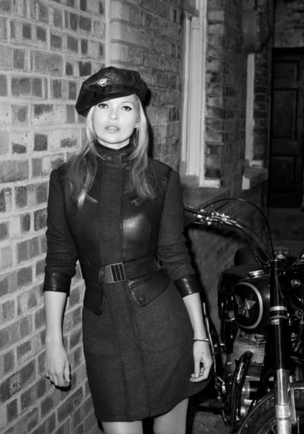 Kate Moss is NOT naked in this Terry Richardson shoot