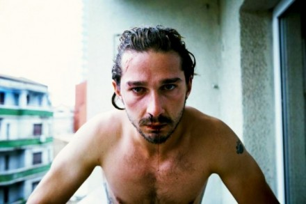 Creepy: Shia LaBeouf Stare