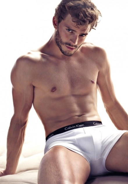 "Jamie Dornan is Christian Grey in ""Fifty Shades of Grey"""
