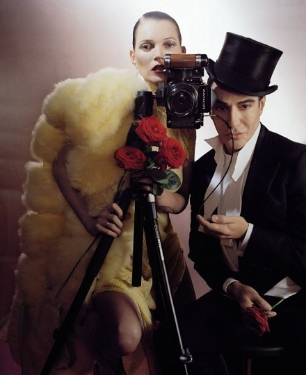 Kate Moss pulls John Galliano back into the fashion world