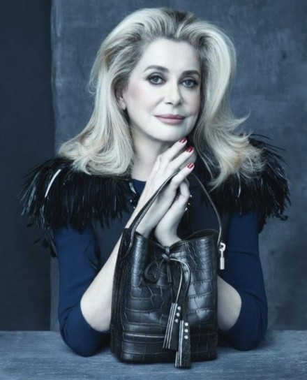 Catherine Deneuve & other muses pose for final Marc Jacobs Louis Vuitton campaign