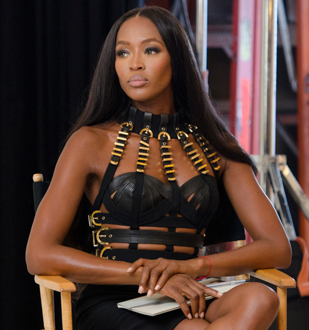 Apparently, Naomi Campbell is a bitch on set