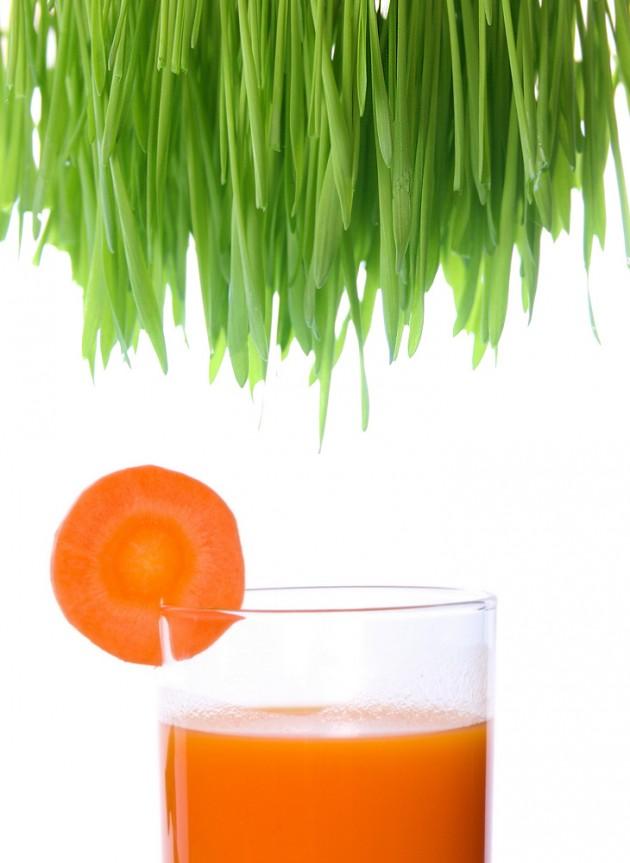 Juice your skin healthy