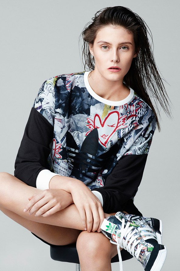 The Adidas Originals collection for Topshop is here