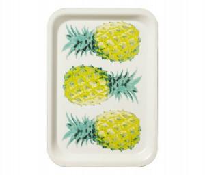ananas dienblad tray