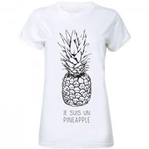 je suis pineapple tshirt