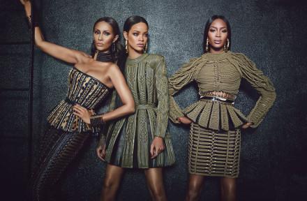Rihanna, Naomi, Iman!